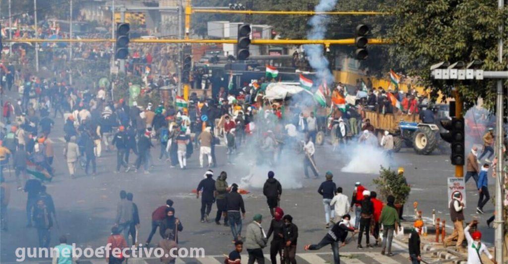 เมืองในอินเดีย ตึงเครียดหลังจากชาวนาเสียชีวิต การรักษาความปลอดภัยในเมืองทางเหนือของอินเดียเข้มงวดขึ้น หลังจากมีผู้เสียชีวิต 8 คน
